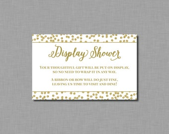 Display Shower Bridal Shower Amelia BR61 Printable - Instant Download