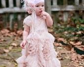 Baby Girl Headband- Baby Headband-Dollcake Headband- Flower Girl Headband- TuTu Du Monde- Newborn Headband
