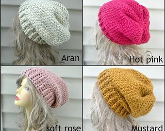 slouchy Hat Womens Crochet Hat, Hair Accessories, Slouch Beanie, Womens Beanie, Winter Hats, Fashion Accessories