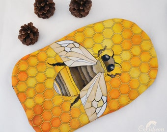 Bumble Bee Hot Water Bottle Cover