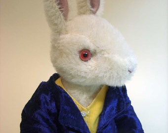 Rabbit Alice ...  ... or sew your own rabbit... ebook  PDF with pattern