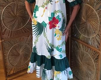 Wonderful, lovely and comfy Hawaiian dress