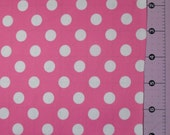 CLEARANCE - 1YD Bubblegum Pink Waterproof PUL fabric
