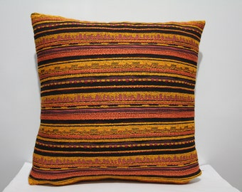 Navajo Pillow Case , Aztec Pillow Cover , Kilim Pillow ,Tribal Pillow Case , Chevron Pillow Case