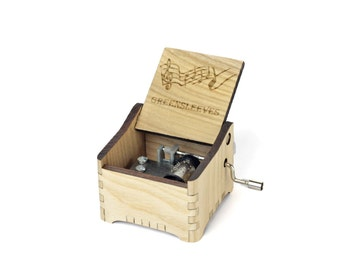 Greensleeves + Your Engraving on the music box