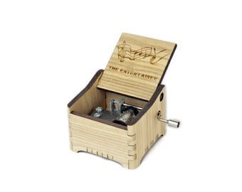 The Entertainer - Scott Joplin + Your Engraving on the music box