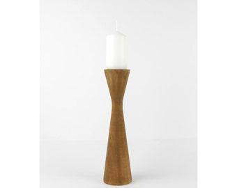 Wooden Candle Holder / Modern