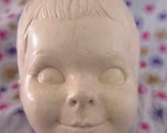 Edward Mobley, Little Boy, head only, original sculpture, wax mold, one of a kind