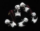 Panda Chopstick Rests Vintage Japanese Set Porcelain Chopsticks Painted Decorative Decor Asian Made in Japan Serving Oriental