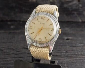 Mens watch, Vintage Poljot mens watch, mens wrist watch, soviet watch, retro watch, vintage russian watch