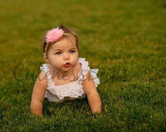 Baby Headbands, Newborn Headband, Baby Bows, Headband, Girl Headband, Pink and Gold Headband, Hairbow, Pink Headband, Head band, glitter bow