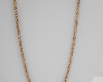 """Vintage Sarah Coventry 25"""" Gold Tone Chain (2266)"""