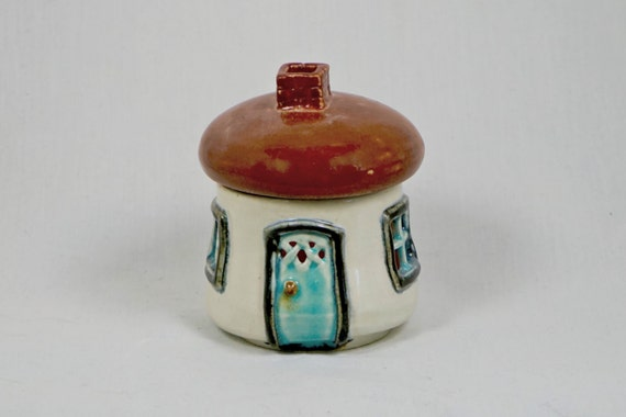 Fairy House Luminary from Muddy Waters Ceramic Creations
