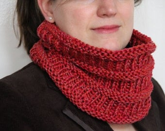 Quick knit cowl