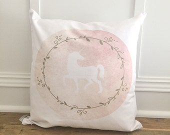 Unicorn 3 Pillow Cover