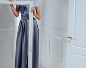 Mist sonata -  Maxi dress / Grey long dress