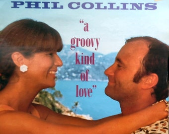 "PHIL COLLINS A Groovy Kind Of Love 1988 Uk Issue 12"" 2 Track Maxi Vinyl Single Record Pop 1980s Film Buster Genesis VST1117 Free s&h"