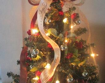 christmas tree with lights lighted christmas tree christmas decoration table top tree - Table Christmas Tree