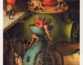 """Hieronymus Bosch Fine Art Poster Print, """"The Last Judgement,"""" c. 1506"""