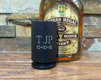 Bullet Shot Glass 30MM A-10 Warthog - Groomsmen Gift- Gifts for Men- Bullet - Military Gift- Father's Day- Bar Ware