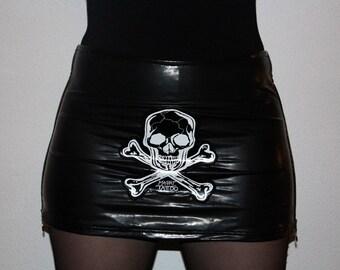PVC miniskirt, brand Jungbluth, size M