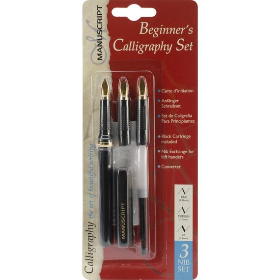 Calligraphy Pen Beginner 39 S Calligraphy Set Calligraphy