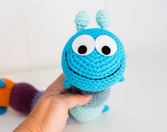 "Amigurumi PATTERN - ""Decipede"" bug - CROCHET"