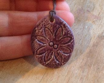 Essential Oil Pendant Flower Diffuser Pendant Aromatherapy Jewellery  Handmade in UK - buy 2 get 1 free