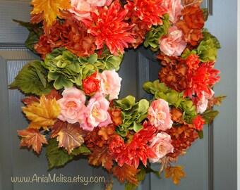 fall wreath autumn wreaths fall front door wreaths fall wreaths, fall decorations, welcome fall wreath