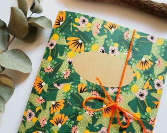 "Handmade notebook: ""Jungle"""
