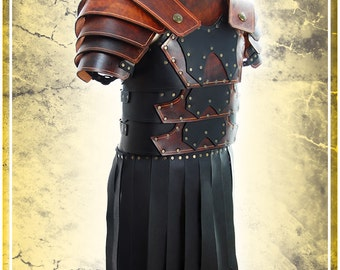 Roman Fantasy Leather Armor