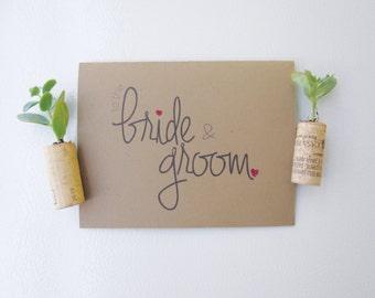 To The Bride & Groom - Wedding Congrats Card