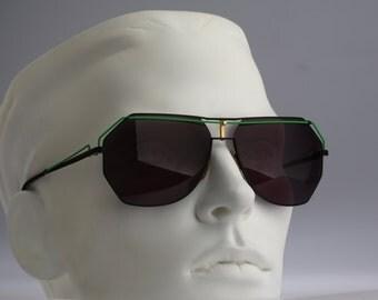 Giovani Favetto GF 917 009 / 80S / Nos / Vintage aviator sunglasses /
