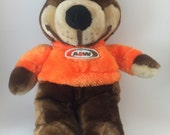 Rooty the Bear AW root bear mascot vintage plush stuffed animal American Soda mascot