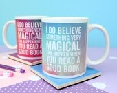 Book Quote Mug. Book Lover Mug. Bibliophile Mug. Read More Books. Books and Tea. Booklover. Bibliophile. Literary Gifts. Reading