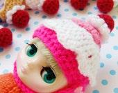 HELMET for Middie Doll. Cupcake