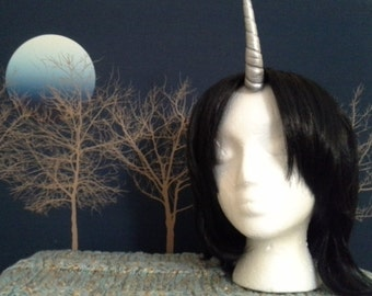 Silver Unicorn Horn Prosthetic *SALE*
