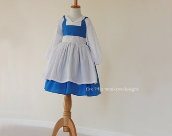 Belle Dress - Belle Costume - Blue Belle Dress - Blue Belle Costume - Provincial Belle - Belle Town Dress - Provincial Belle Dress