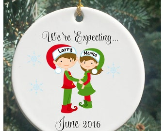 Expecting ornament | Etsy