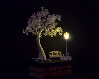 I Will Wait - Book Paper Sculpture - Paper Art