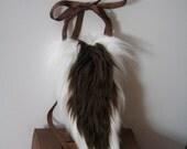 Faun Tail / Deer Costume/ Faux Fur / Poseable /