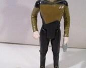 "Vintage Star Trek The Next Generation Lieutenant Commander Data 4"" Action Figure, Galoob 1988, New without Box"