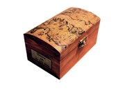 Game of Thrones inspired wooden box, Westeros map decoupage - custom antique fantasy jewelry box - Stark Targaryen Lannister - made to order