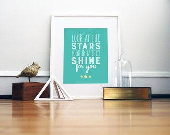 Stars Art Print