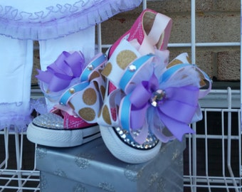 PRINCESS BLINGALICIOUS High Top Sneakers for your Perfect Princess
