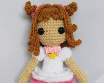 Amigurumi Sakura Doll Crochet Card Captors