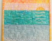 Mini Seascape: Sunset I