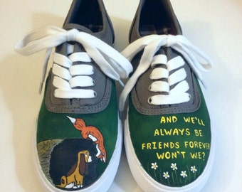 Fox and the Hound Inspired Shoes