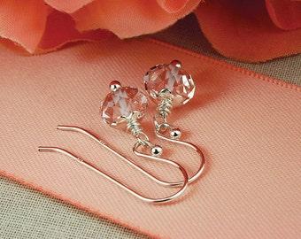 Crystal earrings, swarovski earrings, swarovski crystal, swarovski jewelry, swarovski crystal earrings, clear crystal earrings, crystal