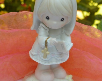 SALE! Precious Moments Figurine -UNUSED- This Day Has Been Made in Heaven - Vintage - Fabulous!